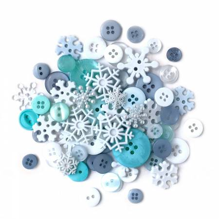 Value Pack Snowflakes 5/8in - 3/4in