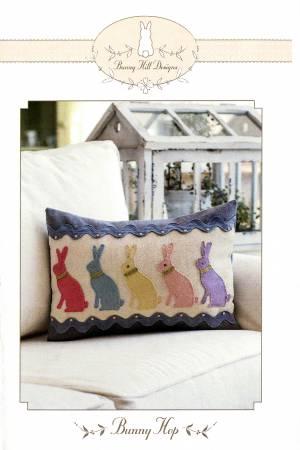 Bunny Hop Pillow wool kit