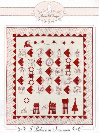 I Believe In Snowmen Block Of the Month