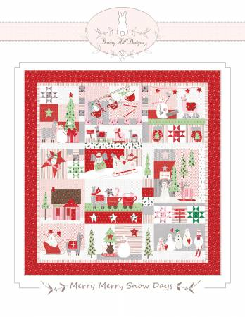 Merry Merry Snow Days Quilt Pattern By Bunny Hill Designs