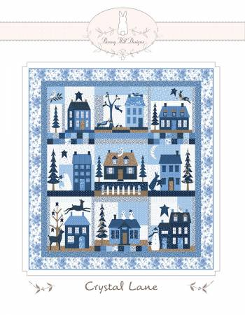 Crystal Lane Quilt Pattern By Bunny Hill Designs