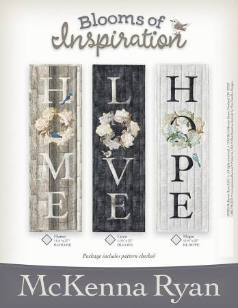 Blooms of Inspiration - Home - Love - Hope Pattern Set