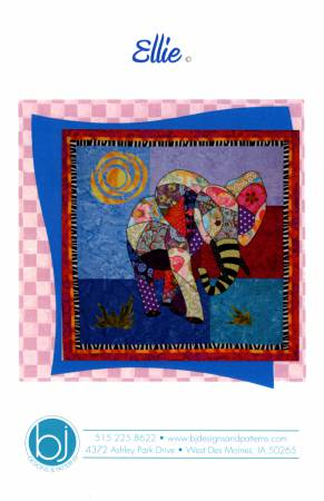 Ellie the Elephant Small Quilt Pattern