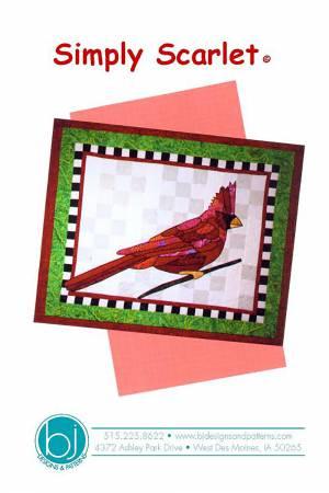 BJ Designs Simply Scarlet Pattern