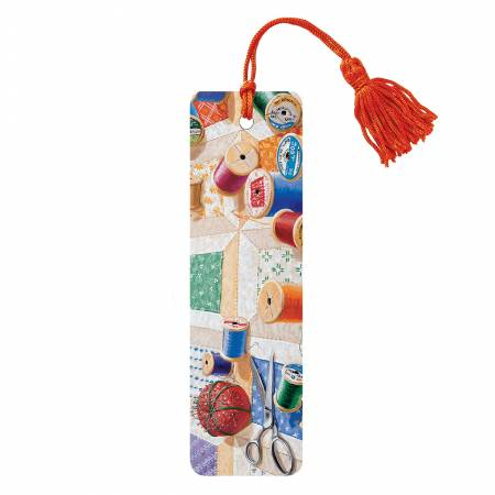 Sewing Bookmark With Tassel