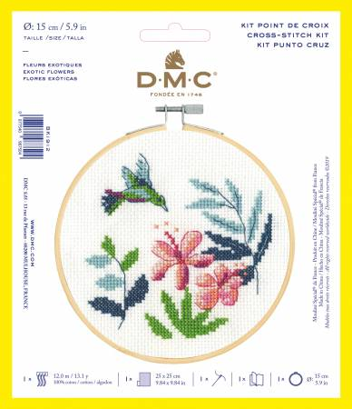 Stitch Kit XS Exotic Flowers