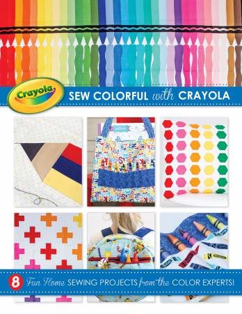 Crayola Sewing Project Book - Softcover