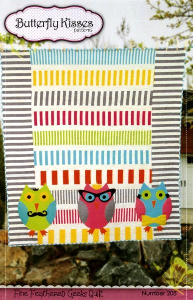 Fine Feathered Geeks Quilt