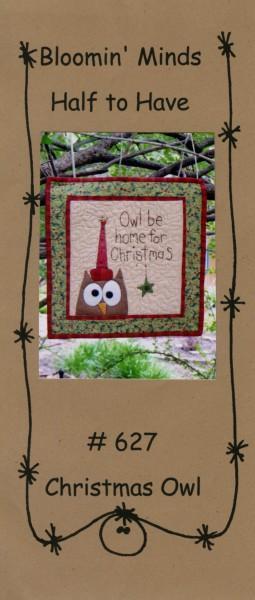 Half To Have - Christmas Owl