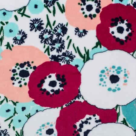 Coral Blossom Cuddle Print
