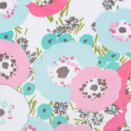 Hot Pink Blossom Cuddle Print