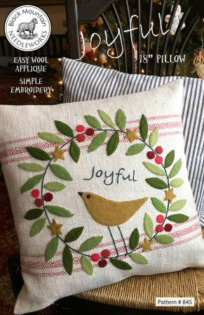Joyful Pillow Pattern