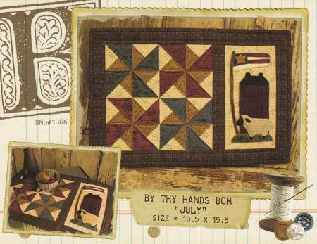 By Thy Hands Block of the Month - July
