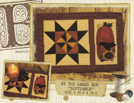 By Thy Hands Block of the Month - September