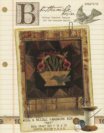 BMB1016 Wool & Needle Block of the Month - May