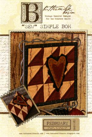 Sew Simple Block of the Month - February