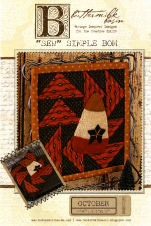 Sew Simple Block of the Month - October
