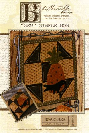 Sew Simple Block of the Month - November