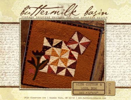 With Cotton & Wool Block of the Month - May