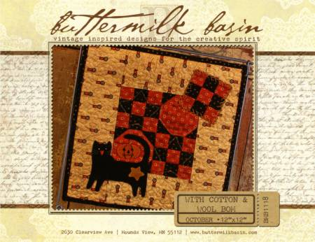 With Cotton & Wool Block of the Month - October