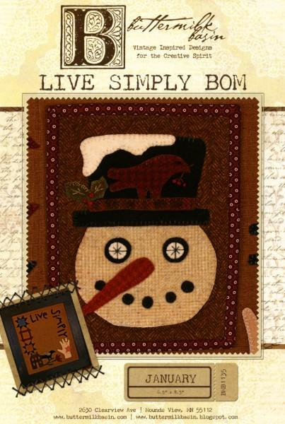 Live Simply Block of the Month - January