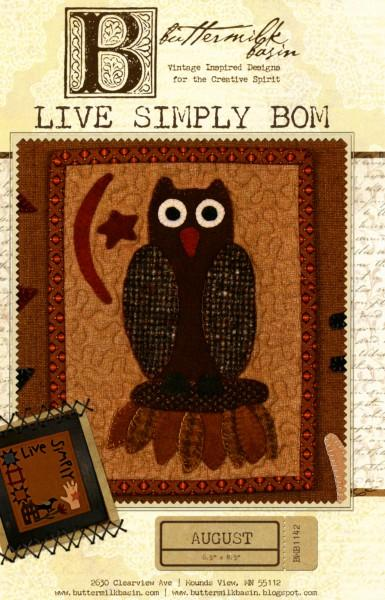 Live Simply Block of the Month - August