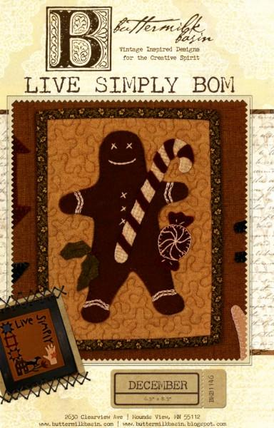 Live Simply Block of the Month - December