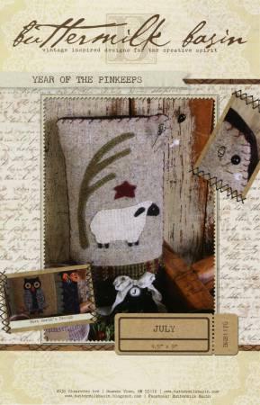 Year of the Pinkeeps - July / Sheep