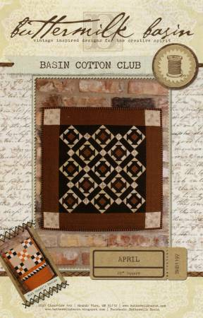 Basin Cotton Club April
