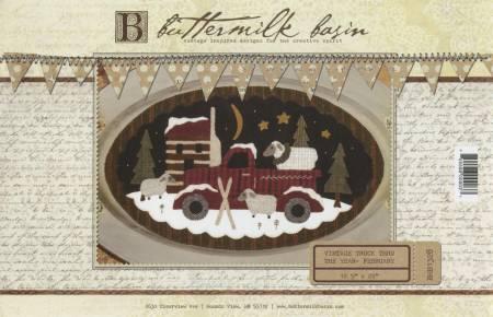 February Vintage Truck thru the Year By Buttermilk Basin