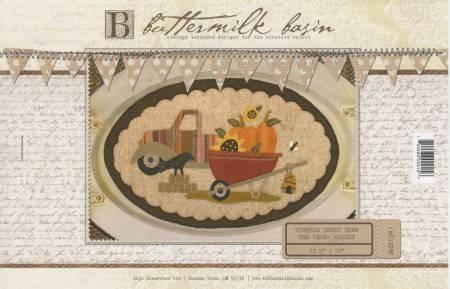 Vintage Truck Thru The Year - August 12-1/2in x 22in