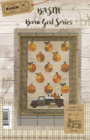 Grandpa's Pumpkin Patch  Kit & Pattern