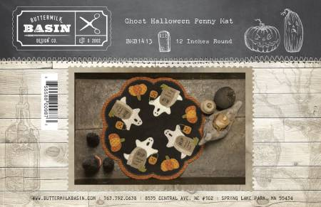 Ghost Halloween Penny Mat