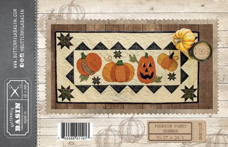 Pumpkin Party Runner Pattern by Buttermilk Basin