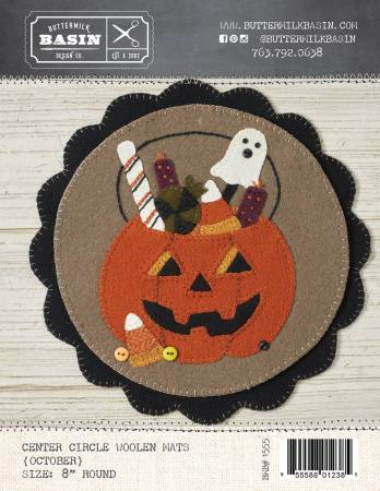 Center Circle Woolen Mats October