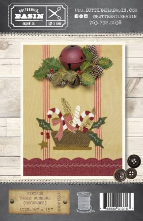 VIntage Table Runners December
