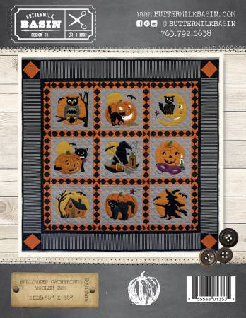 Halloween Gatherings Woolen BOM Wool Kit