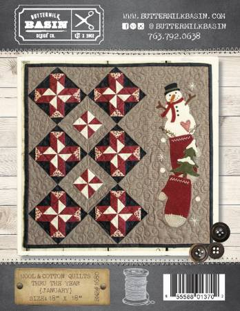 Wool & Cotton Quilts thru the Year January