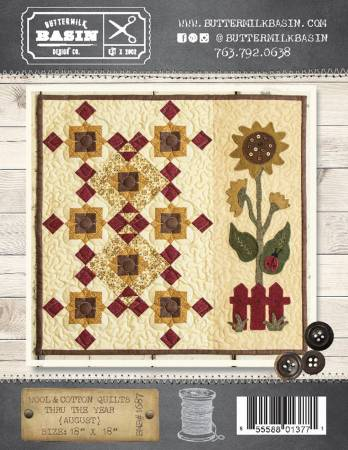 Wool & Cotton Quilts thru the Year August