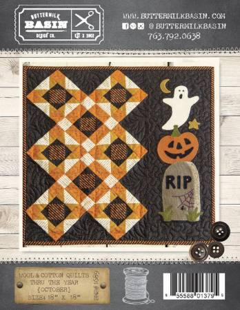 Wool & Cotton Quilts thru the Year October