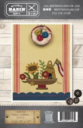 PTW BMB Vintage Table Runners July