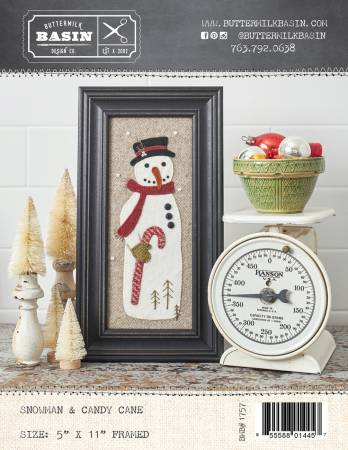 Snowman & Candy Cane Pattern