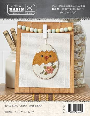 Hatching Chick Ornament