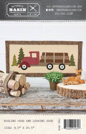 Hauling Wood and Looking Good
