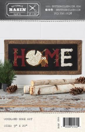 Woodland Home Mat