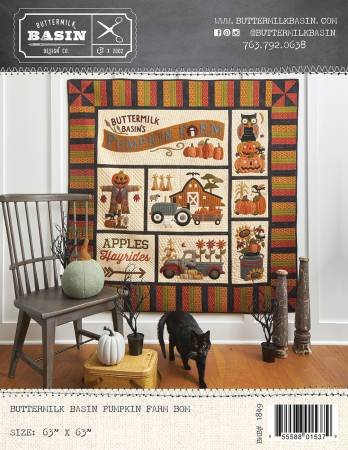 Pumpkin Farm Quilt Pattern By Buttermilk Basin