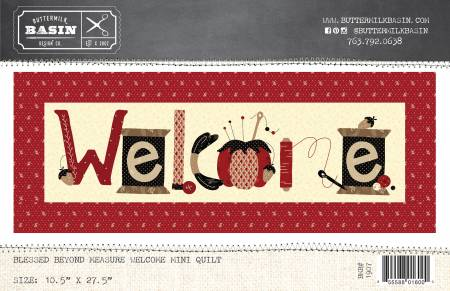 Blessed Beyond Measure Welcome Mini Quilt