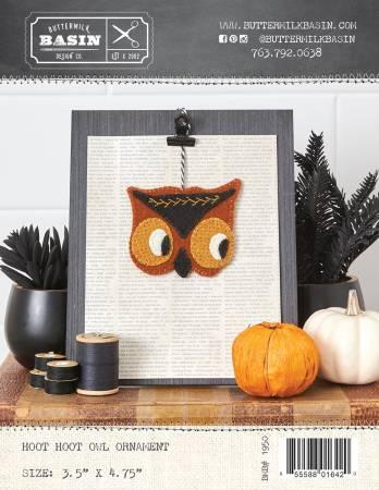 PT W BMB Hoot Hoot Owl Ornament