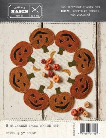 8 Halloween Jacks Mat