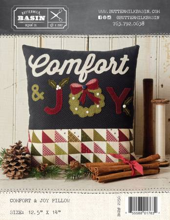 Comfort & Joy Pillow